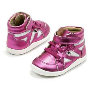 Baby Girl Shoes Old Soles Shizam Toddler Leather Pink Sneakers New