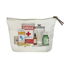 "Mary Lake-Thompson First Aid Canvas Pouch Makeup Bag Toiletry Bag, 8.5"" x 7.5"""