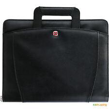 New Black Wenger® Business Office Organize Presentation Portfolio Bundle Set