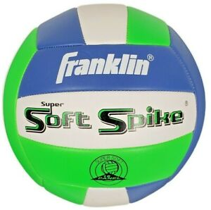 Franklin Beach Sports Official Super Soft Spike Volleyball New