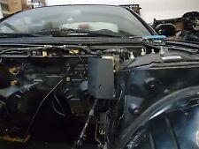 S14 (1995-1998) Brake Master Cylinder Heat Shield: Metal Black