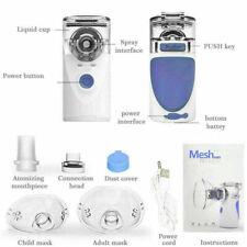 Portable Ultrasonic Nebulize Mini Inhaler Battery Operated Asthma Machine KIDS