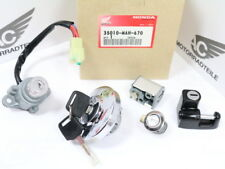 Honda VT 1100 C2 key set complete seat lock ignition switch fuel cup steering