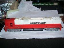 HO scale train Mantua TYCO Illinois Central Gulf railroad deisel engine #1102