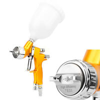 High quality Spray Gun Kit Gravity Feed Vehicle Car Paint 600CC 1.3mm Nozzle new