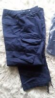 Royal Navy PCS No4 Working Dress Combat Trousers - latest issue in Navy Blue