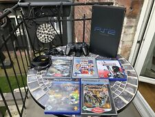 Playstation 2 PS2 Konsole Inkl. 5 Spielen 1 Controller Memory Sammlung Fat Lady