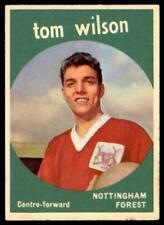 A&BC Footballers 1960 Black Back (B1) Tom Wilson Nottingham Forest No. 25