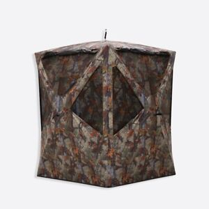 PR300BT Barronett Prowler Ground Hunting Blind 3 Person Woodland Camo