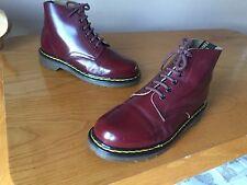 Vintage Dr Martens 8175 cherry red boots UK 5 EU 38 England punk kawaii oxblood