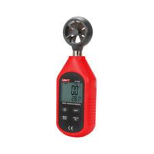 Wind Speed Air Velocity Meter Ut363 LCD Anemometer Gauge Measure Thermometer