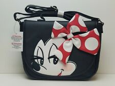 Disney Parks Loungefly Minnie Mouse Purse All About The Bow Red Polka Dot Bow