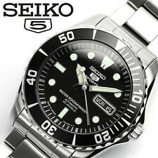 SEIKO SEIKO 5 SPORTS SNZF17J1 Diver's Black Dial Men's Watch From Japan