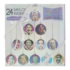 Skin Treats 24 Days of Masking - Clay Face Mask Advent Calendar - 24 Masks