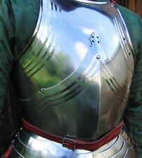 18GA Steel Medieval Upper Body Gothic Armor Breastplate/ Cuirass Knight Armor L4