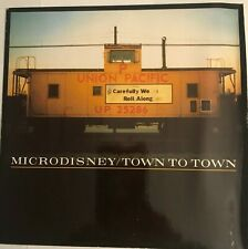 """Microdisney - """"Town To Town""""  7"""" (1987) / """"Little Town In Ireland"""" /     LOT5"""