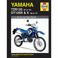 Yamaha TZR125 1987-93 DT125R/X 1988-2007 Haynes Workshop Manual