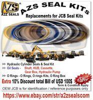 991*00122 JCB Seal Kits, 991/00122 AZS SEAL KITs, Replacement 99100122 991-00122