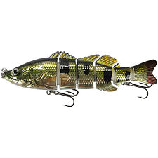 "KDS Custom Slow Sinking Jointed 6"" Multi Section Swimbait - Holo Bass"