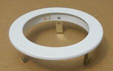 "4"" INCH RECESSED CEILING CAN LIGHT TRIM BAFFLE RING - WHITE"
