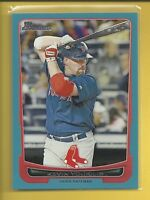 Kevin Youkilis 2012 Bowman BLUE Parallel Card # 187 serial #'d / 500 Red Sox