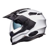 Nexx X WED 2 Plain White - Adventure DVS Dual Sport Motorcycle Helmet M and L