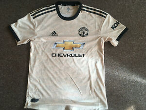 MANCHESTER UNITED PLAYER ISSUE ADIDAS THIRD SHIRT 2019/20 SIZE 5 BRAND NEW