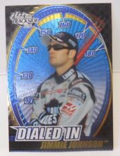 2003 Press Pass Trackside Jimmie Johnson Dialed In Insert Card # DI 5 / 12