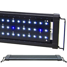 "Beamswork 48"" Ea 120 Timer White Blue 0.50W Led Aquarium Light Freshwater Fish"