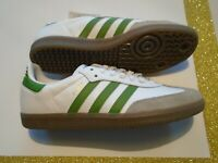 New Adidas Originals Samba OG  Olive Green Men's Leather Soccer Shoes EE7055