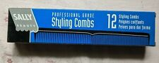 Vintage Sally Black Professional Styling Comb #10