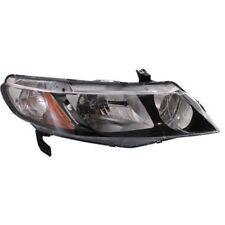 For Civic 06-11, Passenger Side Headlight, Clear Lens