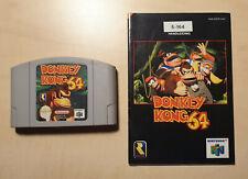 Donkey Kong 64 Nintendo 64 N64 PAL