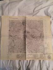 Cartina Militare Del Comune Di Barzio (lc) Anno 1935
