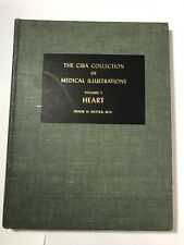 CIBA COLLECTION OF MEDICAL ILLUSTRATIONS: The HEART; Vol 5 - 1969