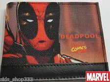 DEADPOOL Thumbs Up ! bi fold canvas wallet X-Men deadpool Marvel Comics Stan lee