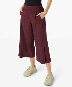 New Women's Lululemon Wanderer Culotte - $88 MSRP - Size 6