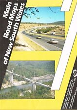 1985 Main Road Maps of New South Wales by Commissioner for Main Roads