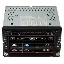 """6.2"""" GPS NAVIGATION DOUBLE 2DIN CAR STEREO DVD PLAYER BLUETOOTH IPOD MP3 FM F1C4"""