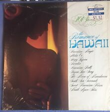 """The Romance Of Hawaii 101 Strings Orchestra LP Alshire Stereo 12"""" VGC"""