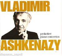 Prokofiev : I Concerts Pour Piano / Vladimir Ashkenazy, Andre' Previn - CD