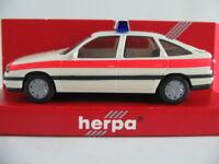 """Herpa 041713 Opel Vectra A GL (1989) """"NOTARZT"""" in cremeweiß 1:87/H0 NEU/OVP"""