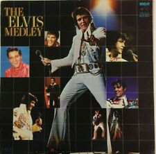 ELVIS PRESLEY -THE ELVIS MEDLEY- 1983 MEXICAN LP ROCK & ROLL