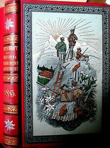 ZEITSCHRIFT des DT.u. ÖSTERR. ALPENVEREIN 1885 Compton-Stich >Im Gepatsch< SUPER