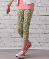 NWT MATILDA JANE Hello Lovely 435 PRINT IT Leggings Aztec Print Girls Size 10