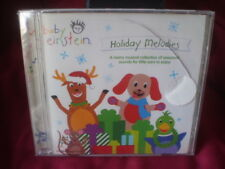 Baby Einstein Holiday Melodies Christmas CD Factory Sealed - CRACKED case