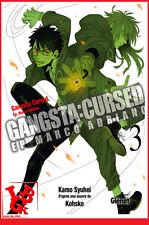 GANGSTA : Cursed 3 03 Juin 2017 Glénat Manga Syuhei KAMO Français # NEUF #