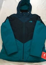 The North Face Women Aryi Triclimate 3-In-One Fleece Jacket Kodiak Blue Size S
