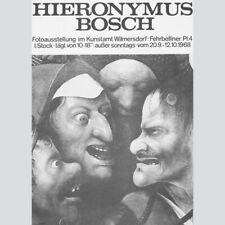 Hieronymus Bosch. Fotoausstellung Kunstamt Wilmersdorf 1968.