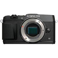 Olympus PEN E-P5 16,1 MP Digitalkamera - Schwarz (Nur Gehäuse) 109 Auslösungen